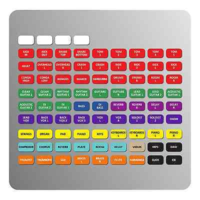 Magnetic Labels For Yamaha TF Series Consoles (TF5, TF3, TF1) • 13.75£