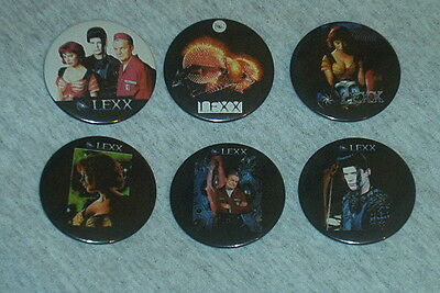 Lexx  Fridge Magnets X 6 Cult Canadian Sci Fi Xenia Seeburg # • 0.99£