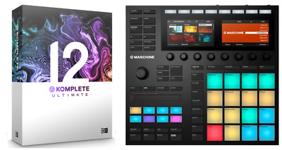 Native Instruments Maschine MK3 + Komplete 12 Ultimate Bundle • 1,267.01£