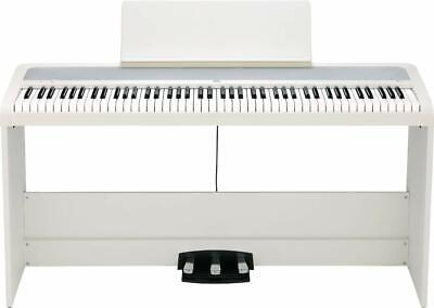 Korg B2SP Digital Piano With Wooden Stand And Pedal-board - White - B2SP-WH • 500£