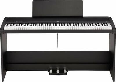 Korg B2SP Digital Piano With Wooden Stand And Pedal-board - Black - B2SP-BK • 500£