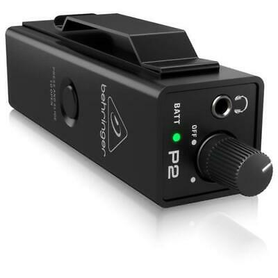 Behringer P2 Powerplay Personal In Ear Monitor Da Cintura Con Ingresso Combo Xlr • 40.45£