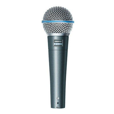 Shure Beta 58A High Output Supercardioid Dynamic Vocal Microphone • 159£