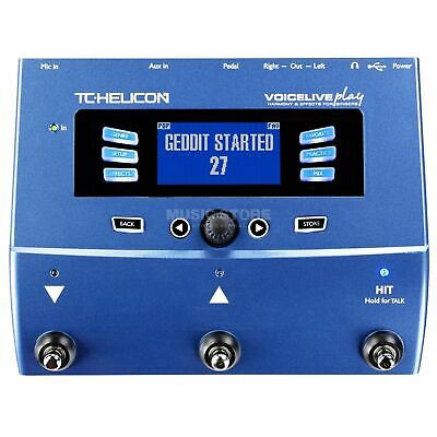 TC Helicon VoiceLive Play + TC Helicon MP-75 Vocal Microphone • 250£