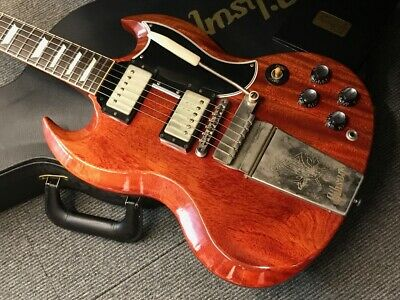 Gibson Custom Shop  SG Standard Reissue W/Maestro VOS 2014 Faded Cherry • 2,524.26£