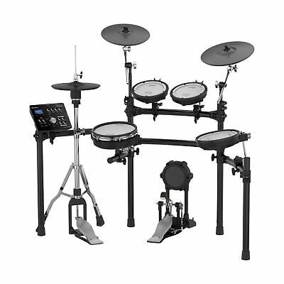 Roland Electronic V Drum Set W/ 10  Snare Pad 8  Tom 12  Crash V Cymbal Stand • 1,800.53£