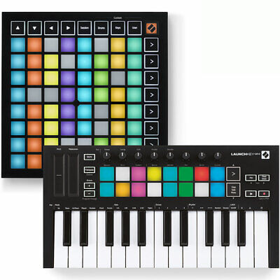 Novation Launchpad Mini MK3 + Launchkey Mini MK3 Bundle Deal Inc. Ableton Live • 199£