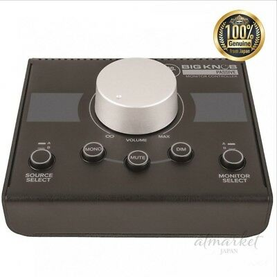 MACKIE Level Control & Sound Source Monitor Speaker Controller Big Knob Passive • 88.21£