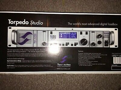 Two Notes Torpedo Studio - Pinnacle Of Speaker And Miking Simulation, Ultimate L • 999£