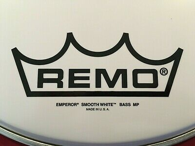 Remo 16  Bass Emperor Smooth White Model Bb-1216mp  Bass Drum Head • 18.72£