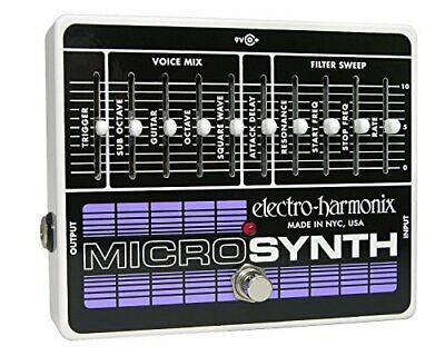 electro-harmonix Bass MicroSynth EH7951 [Effects Pedal]