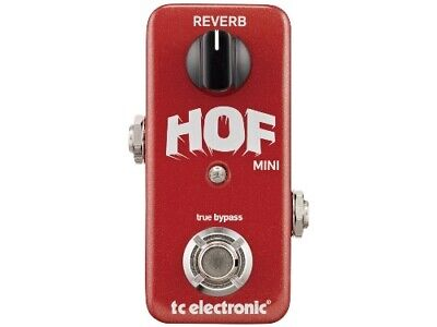 tc electronic HALL OF FAME MINI REVERB [Effects Pedal]