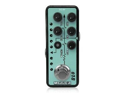 MOOER Micro Preamp 018 Effects Pedal • 120.86£
