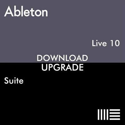 Ableton Live 10 Suite Upgrade From Live 10 Standard Download • 269£