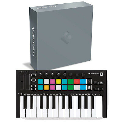 Steinberg Cubase Artist 10 Software Box With Novation Launchkey Mini MK3 • 280.72£