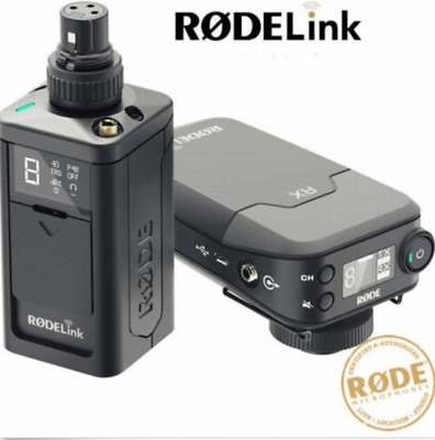 Rode Rodelink Newsshooter Kit Digital Wireless Microphone Plug Pack And Camera R • 265.63£