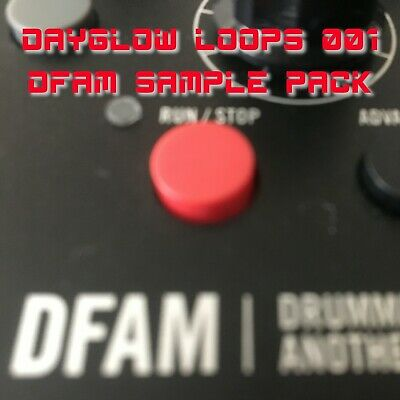 Moog DFAM Sample Pack (Ultimate Drums, Bass, SFX, Percussion Loops And More) • 7£
