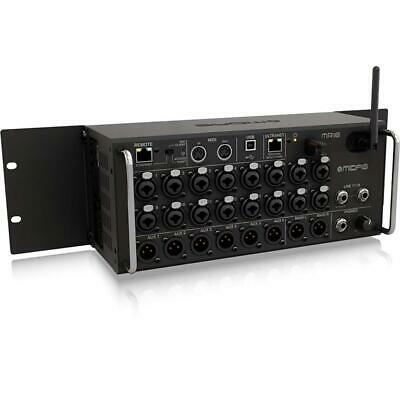 Midas MR18 18Input Digital Mixer For IPad/Android Tablets W/16 Midas PRO Preamps • 929.39£