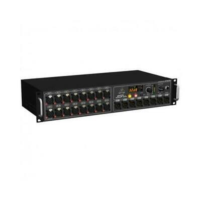 Behringer S16 Digital Snake Stage Box Digitale 16 Preamplificatori Microfonici 8 • 564.15£