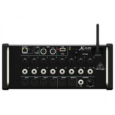 Behringer Xr16 Mixer Digitale X-air Ipad Android Wifi Usb Lan 16 Canali 8 Preamp • 360.38£
