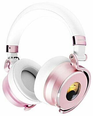 Meters Music M-OV-1-ROSE Over-Ear Wired Foldable Headphones W/ Microphone • 202.71£