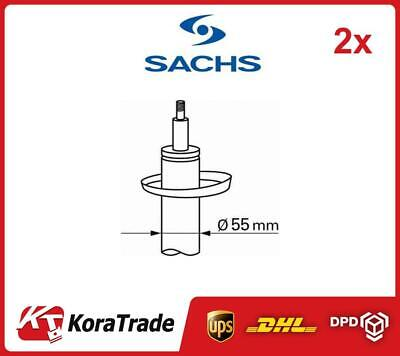 2x SACHS 313053 FRONT SHOCK ABSORBERS PAIR SHOCKER OE QUALITY • 102£