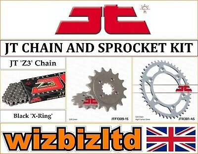 Honda XR650 L-P,A,B,C,D,E,F,G 1993-2016 [JT Black Z3] [X-Ring Chain Sprocket] • 86.95£