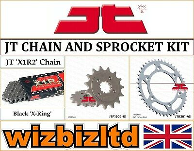 Honda XR650 L-P,A,B,C,D,E,F,G 1993-2016 [JT Black X1R2] [X-Ring Chain Sprocket] • 73.95£