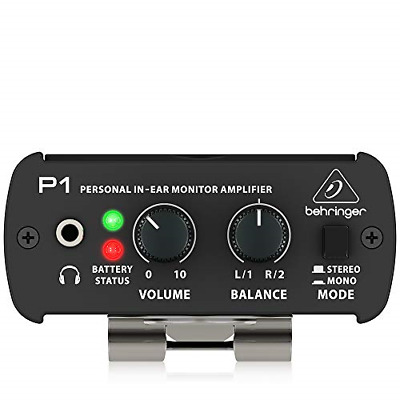 Behringer POWERPLAY P1 Personal In-Ear Monitor Amplifier • 38.12£