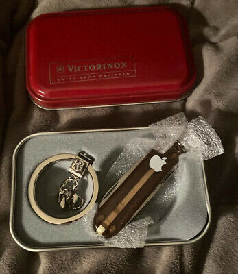 Apple Computer Victorinox Multi-tool Swiss Army Knife With Box Rare Jobs • 117.18£