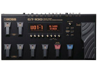BOSS COSM Amp Effects Processor GT-100 [Effects Pedal] • 430.10£