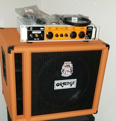 Orange OB1-500 Rack-mount Bass Guitar Head Amp 500W With 1x15 400 Watt Cabinet.  • 809.45£