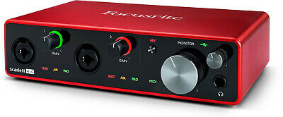 Focusrite Scarlett 4i4 3rd Gen USB Audio Interface  • 159.99£