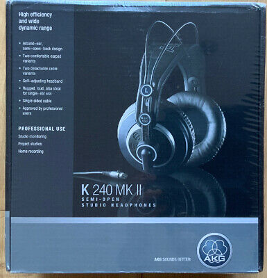 *Brand New* AKG K240 MKII Professional Semi-Open, Over-Ear Studio Headphones • 60£