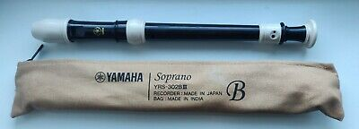 YAMAHA Soprano RECORDER YRS-302B III With OFFICIAL Case.Used & In Good Condition • 8.99£