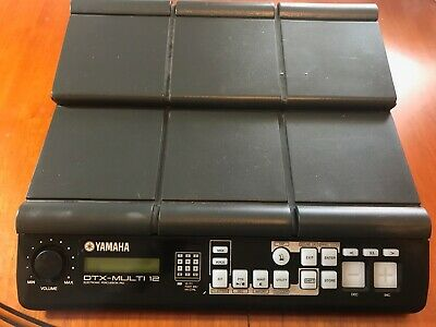 Yamaha Dtx Multi 12 Drum Machine In Perfect Working And Cosmetic Condition. • 300£