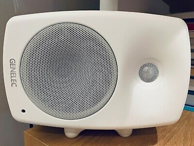Genelec 8330A SAM 5  Bi-Amplified Smart Active Monitor Pair In White • 1,019£