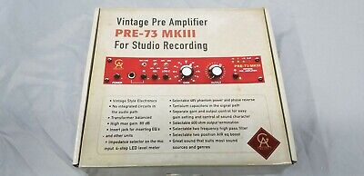 Golden Age Project PRE-73 MKIII Mic Preamp - EXCELLENT • 226.65£