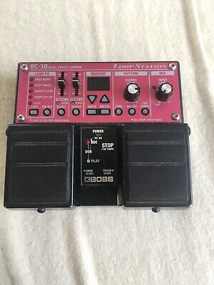 Boss RC-30 DUAL TRACK LOOPER • 75£