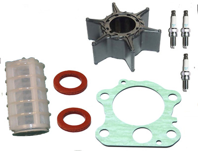 Impeller Gasket Plugs Filter SERVICE PARTS KIT 60HP 70HP YAMAHA 2Stroke Outboard • 37.50£