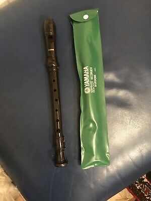 Yamaha Recorder Baroque Soprano Descant With Case VGC • 10£