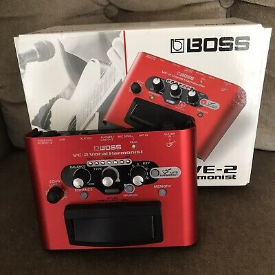 Boss VE-2 VE2 Vocal Harmonist Effects Pedal, Excellent Condition, Boxed • 129.99£
