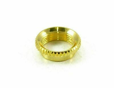 Switchcraft Deep Recessed Nut, For Les Paul Toggle Switches, Gold EP-4923-002 • 2.63£
