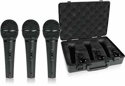 Behringer Vocal Dynamic Microphone (Set Of 3) XM1800S ULTRAVOICE • 104.64£