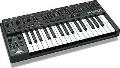 Behringer Analog Monophonic Synthesizer MS-1-BK With Live Performance Kit • 647.68£