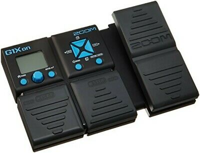 ZOOM Guitar Multi Effector G1Xon Black Blue Equipped With Phrase Looper • 97.02£