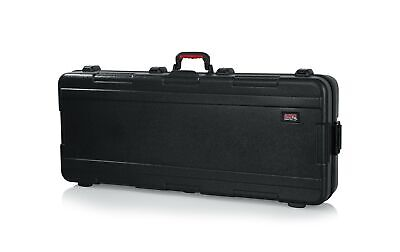 Gator Cases Molded Flight Case For 61-Note Keyboards TSA Approved Locking Black • 292.43£