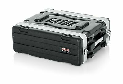 Gator Lightweight Molded 3U Rack Case Storage Heavy Duty Latches Shallow 14.25  • 151.70£