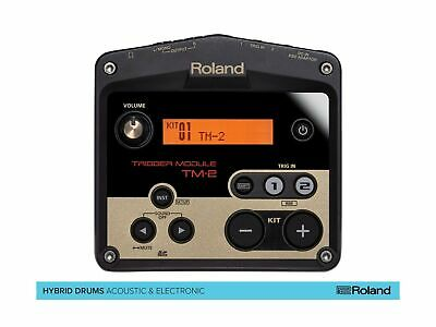 Roland TM-2 Acoustic Drum Trigger Module, Powerful Hybrid Drum Kit • 198.18£