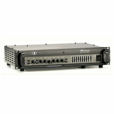 AMPEG SVT-3 PRO 450w Hybrid Tube/Solid-state Bass Amplifier • 710.84£